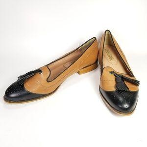 Zara Tassle Flats Women's Size 8